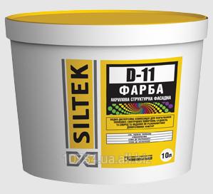 Купить Краска акриловая структурная фасадная Siltek D-11