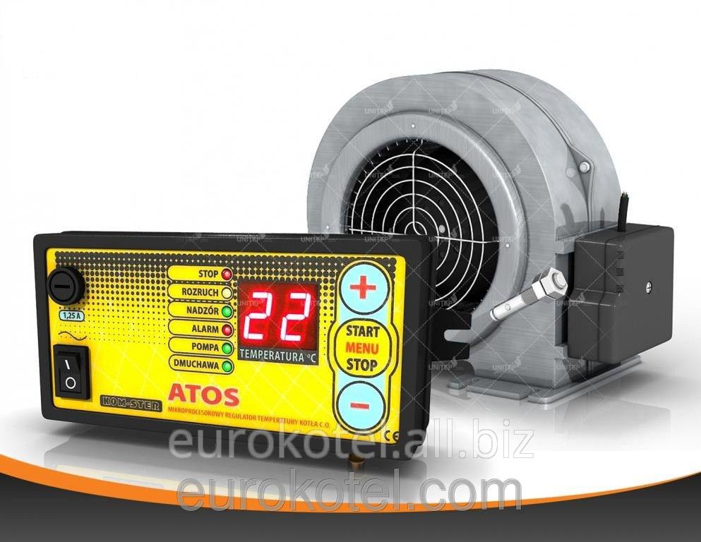 Купить Набор автоматики ATOS для твердотопливных котлов (контроллер+турбина)
