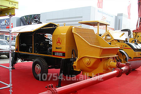 Concrete pump Stationary HBT60C-1413D of the III SANY buy in Kiev