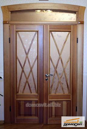 Двери из натурального дерева. двери арочные из бука, дуба, ясеня, Киев