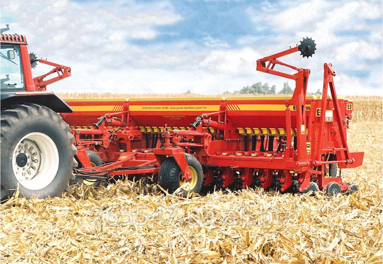Сеялка Bertini модель 32.000, ширина 5,7 м, для крупного, мелкого зерна и трав