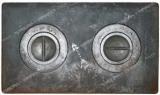 Плита 2-х комфор чугунная земляная 410*710 мм 100955