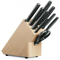 Buy Set of kitchen knives with Victorinox 5.1193.9 suppor