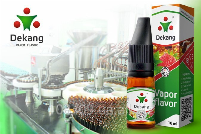 Купить Жидкость для электронных сигарет Деканг (Dekang) золотая серия