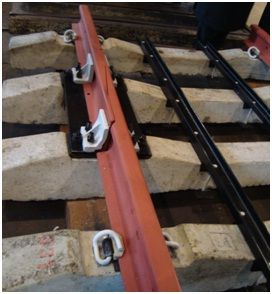 Buy Compensators temperature for a rail, for compensation of temperature linear expansions of jointless rail lashes