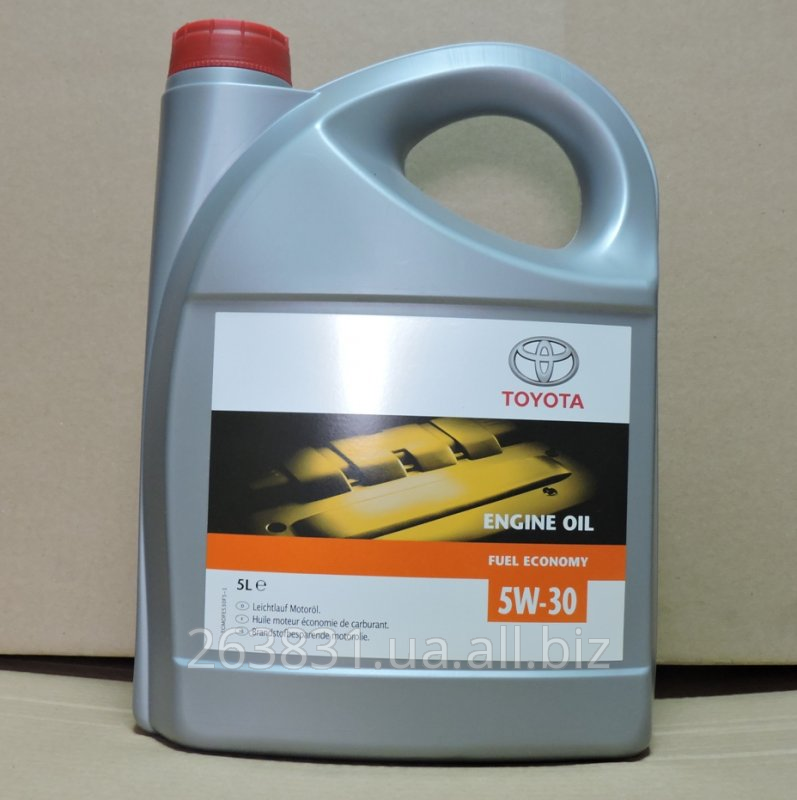 TOYOTA engine oil synthetic