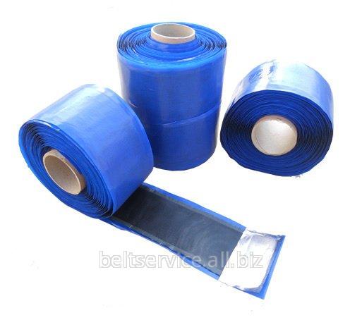 Полоса для заделки стыкового зазора при стыковке конвейерных лент методом холодной вулканизации