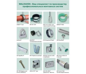 Системы крепежа WALRAVEN Голландия