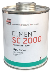 Клей Cement SC 2000 1 кг черный