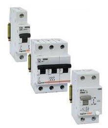 Выключатель автоматический ABB, Eaton, Legrand 1п 10A, 6kA