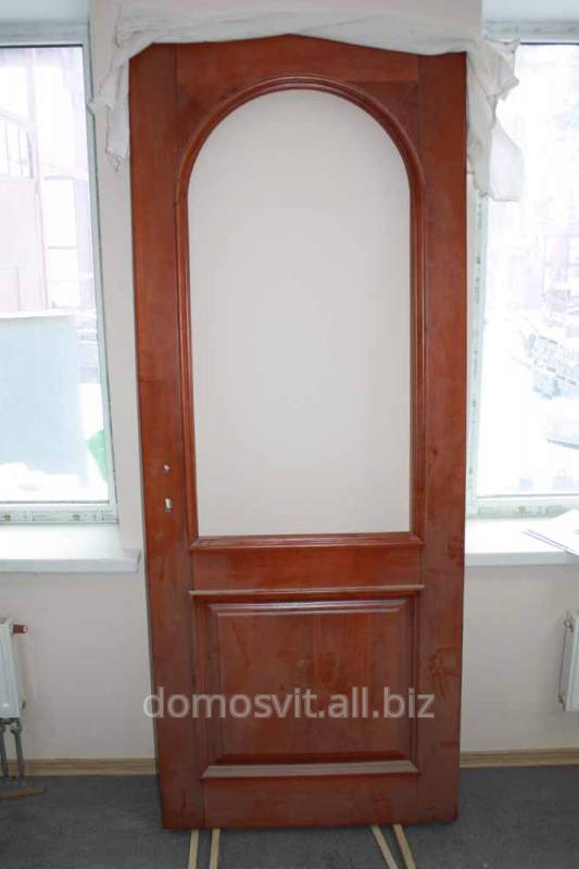 Дверь Д-4, приобрести двери деревянные от украинского производителя, дверь сосновая