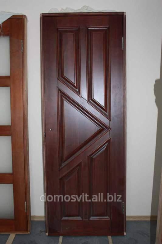 Дверь деревянная Д-5, приобрести дверь из натурального ясеня по скидке 50%