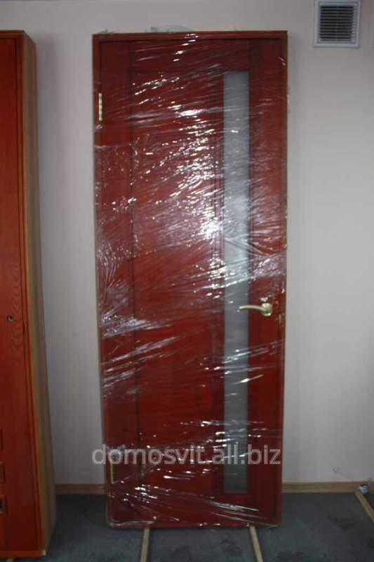 Деревянная дверь д9, дверь из натуральной сосны, дверь от украинского производителя