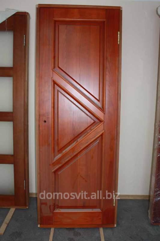 Межкомнатная дверь от производителя, двери на выбор из дерева, дверь Д12