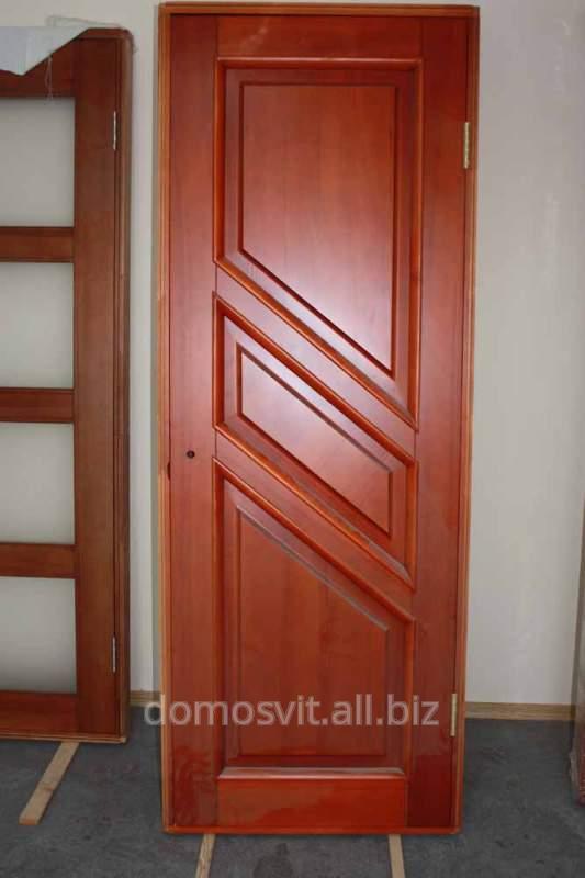 Дверь в комнату, деревянная дверь межкомнатная от украинского производителя, приобрести дверь Д 14