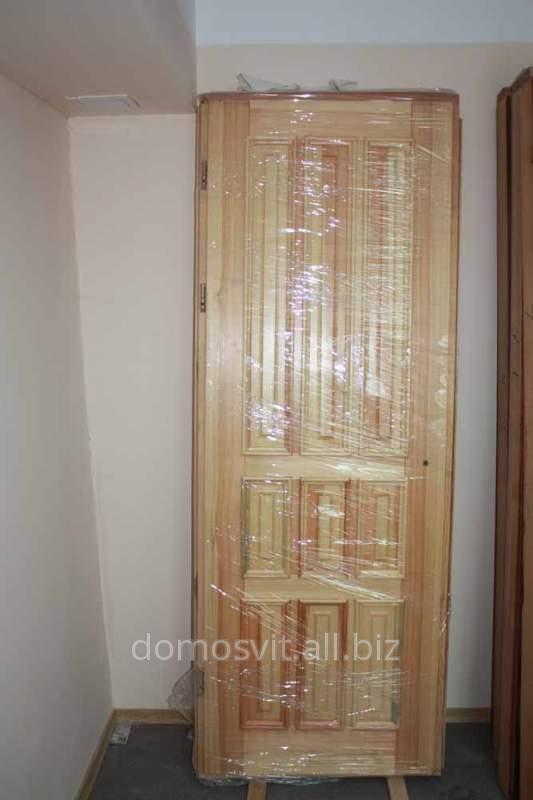 Сосновая дверь от производителя, дверь Д-17