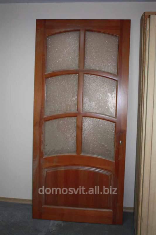 Купить Двери входные Д-90 сосна, приобрести дверь деревянную в дом