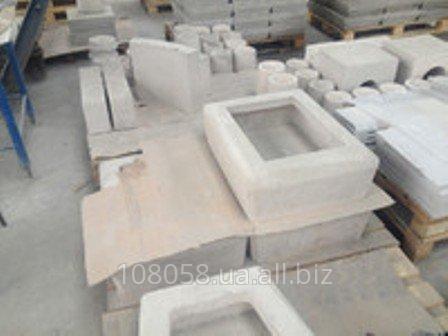 Изделия из огнеупорного бетона по чертежам заказчика