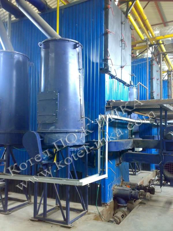 Котлы пиролизные марки ПОЖ ИНКА мощностью от 100 до 5000 кВт.