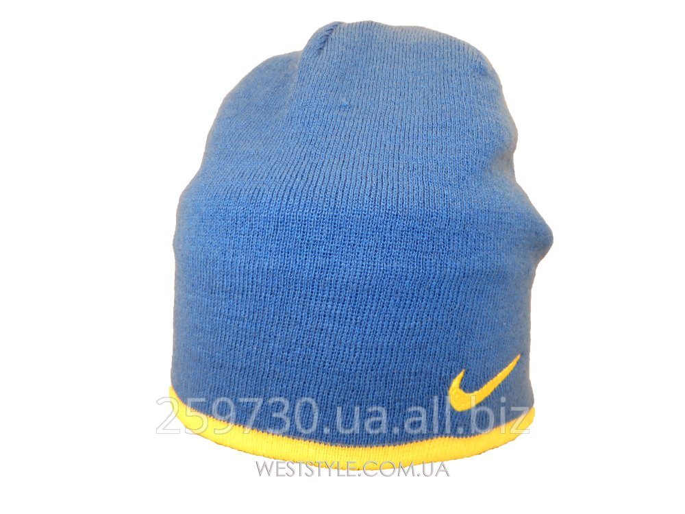 Nike cap blue with a yellow log buy in Lvov 0d2f297609d