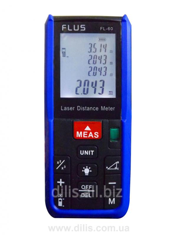 Дальномер лазерный - FL-60 (до 60 метров)