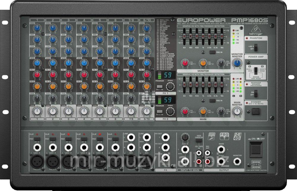 Buy Active mixer of BEHRINGER EUROPOWER PMP1680S