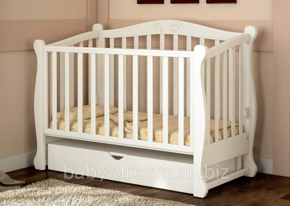 детская кроватка Prestige 8 белая