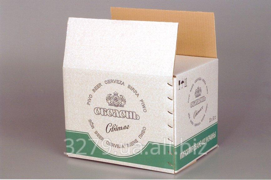 Ящик для упаковки ПИВА №1