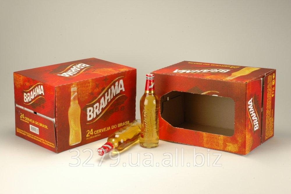 Ящик для упаковки ПИВА №2