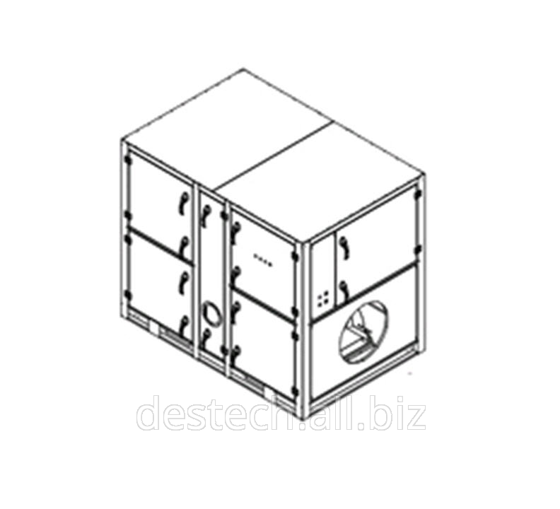 Адсорбционный роторный осушитель воздуха MDC4000