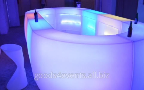 Барная стойка LED-Barstand-01 угловая секция