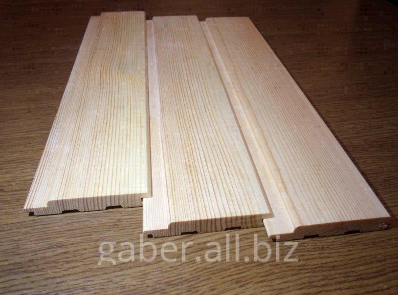 Купить Вагонка деревянная сосна, ольха
