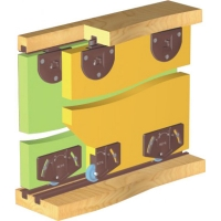 Купить Раздвижная система для шкафов нижнего опирания SKM15