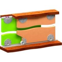 Купить Раздвижная система для шкафов нижнего опирания SKM30