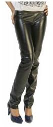 Купить Брюки женские кожаные по доступной цене в Украине - Женские кожаные штаны P.Vorte Leather Studio - Country leather pants (кантри)