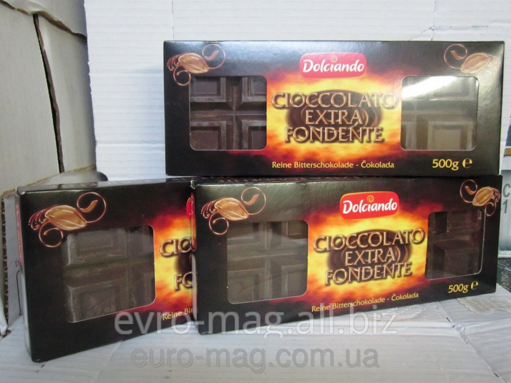 Cioccolato Extra Fondente dark Chocolate of 500 g buy in Kiev 9be32d8236f4