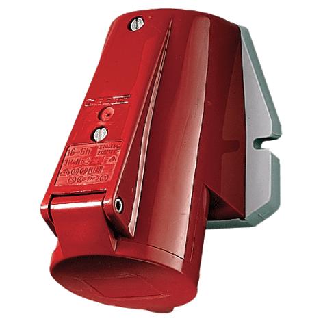 Купить Розетка настенная 16A5P 6H400V IP44 Mennekes