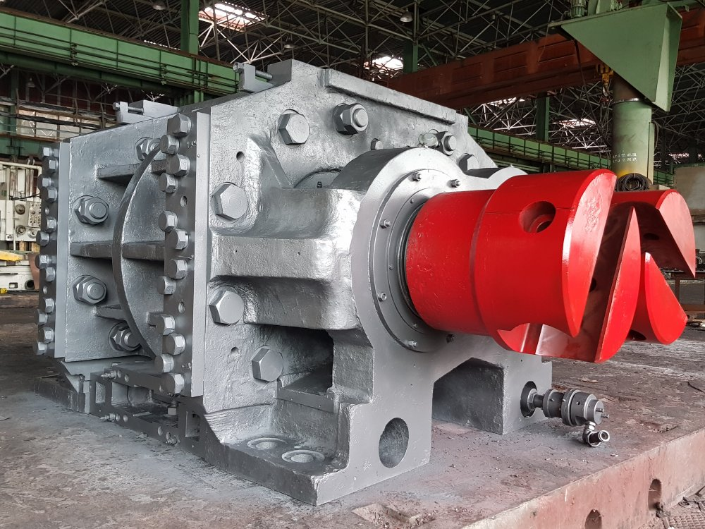 Apparatuur voor de productie en verwerking van rubber