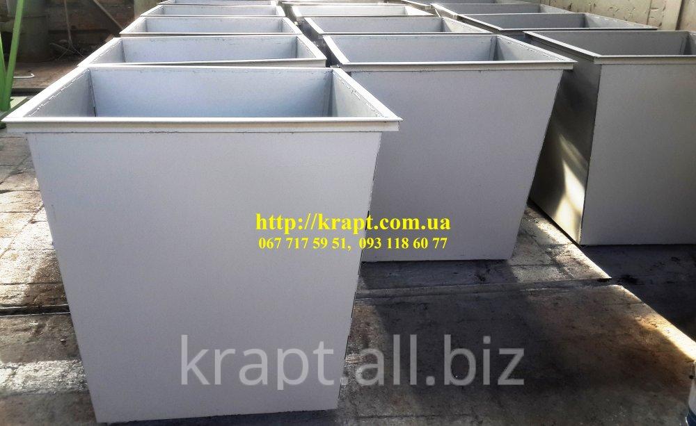 Контейнер для сбора мусора металлический