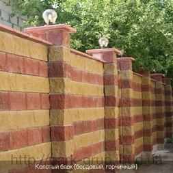 Заборный блок цена, где купить заборный блок - Flagma