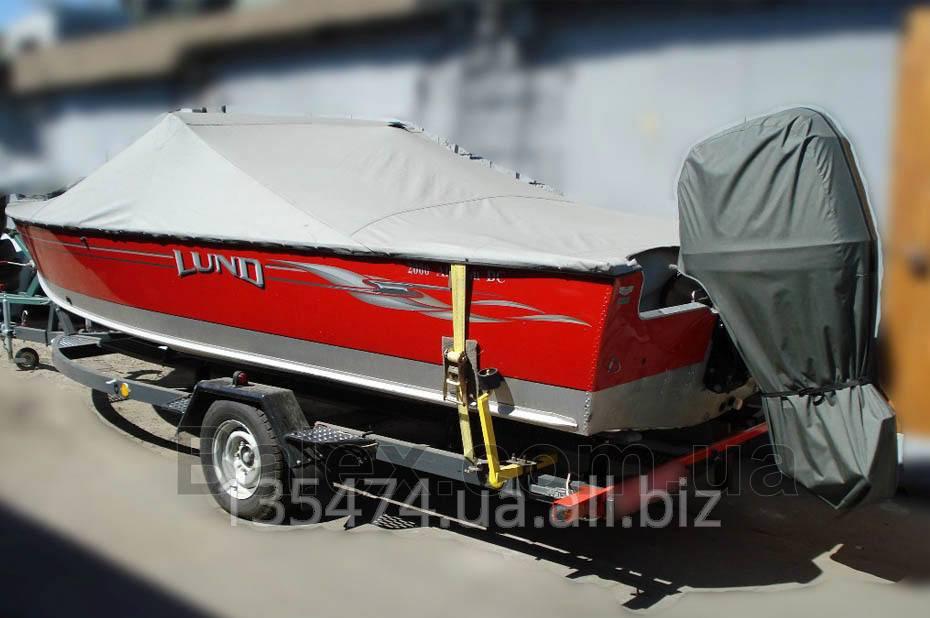 Тенты стояночные для лодок