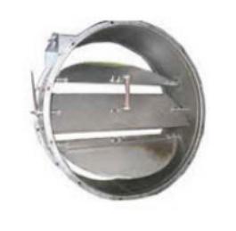 Купить Заслонки воздушные взрывозащищенные круглого сечения