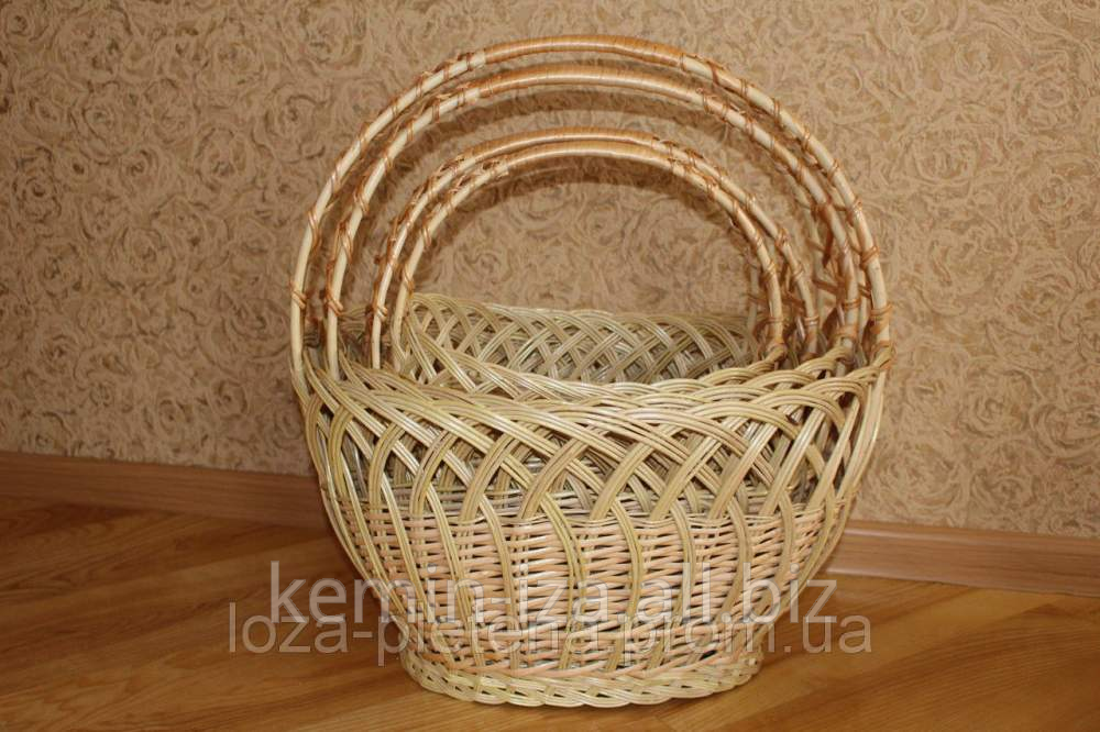 """Buy Set of baskets 4 of piece """"Openwork"""", easter and economic baskets from the producer in Ukraine"""
