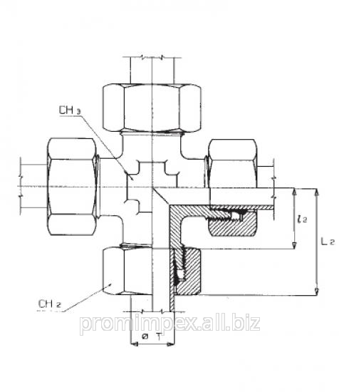 Buy Crosswise threaded connection
