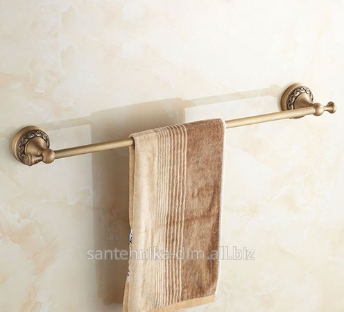Buy The holder for a towel of Single Row Relief Bronze, the Article 65087