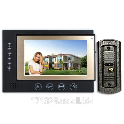 Видеодомофон PoliceCam PC-701R2 + вызывная панель PC-668H