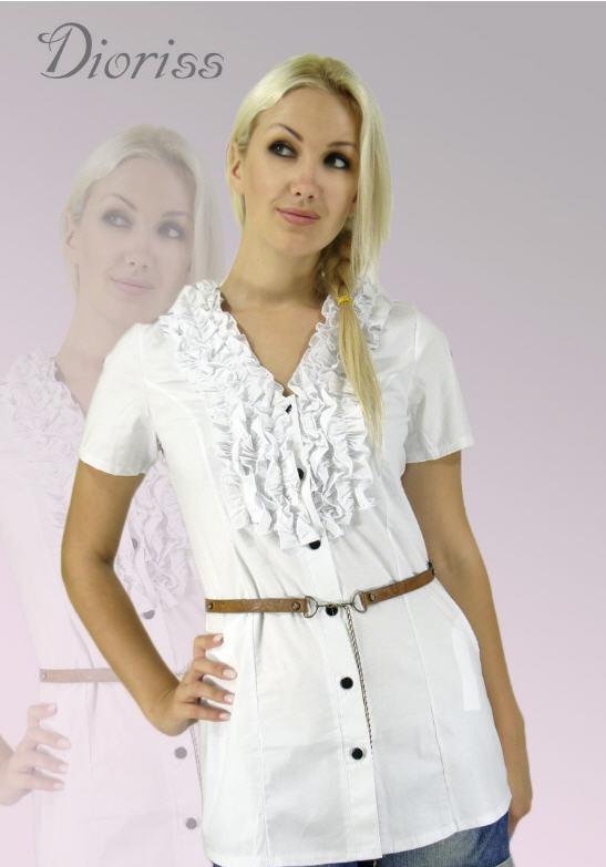 Белые блузки для девушек с доставкой