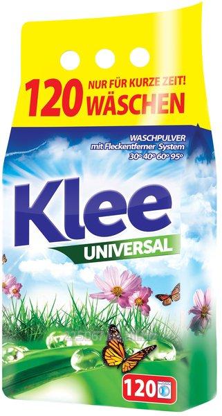 Бесфосфатный стиральный порошок Klee Universal 10 кг- 120 стирок