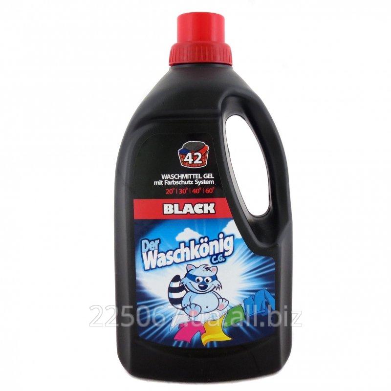 Гель для стирки Waschkonig Black 1,5 л- 42 стирки