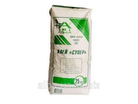 Клей для плитки СУПЕР (5 кг)
